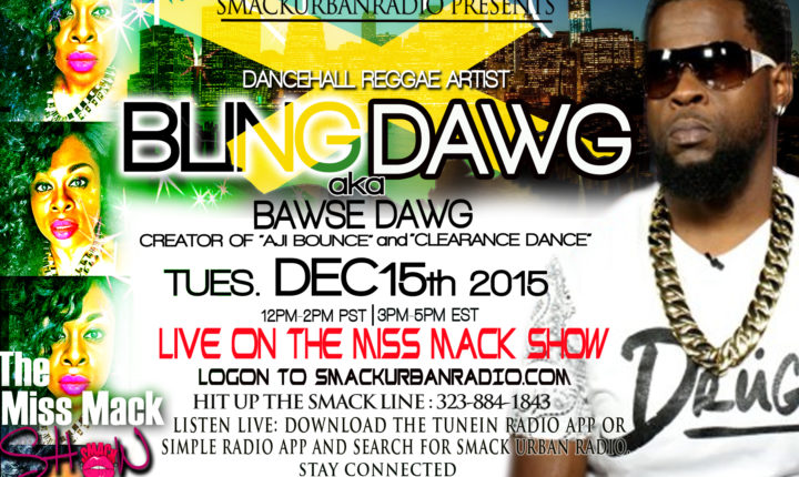 Interview with Bling Dawg
