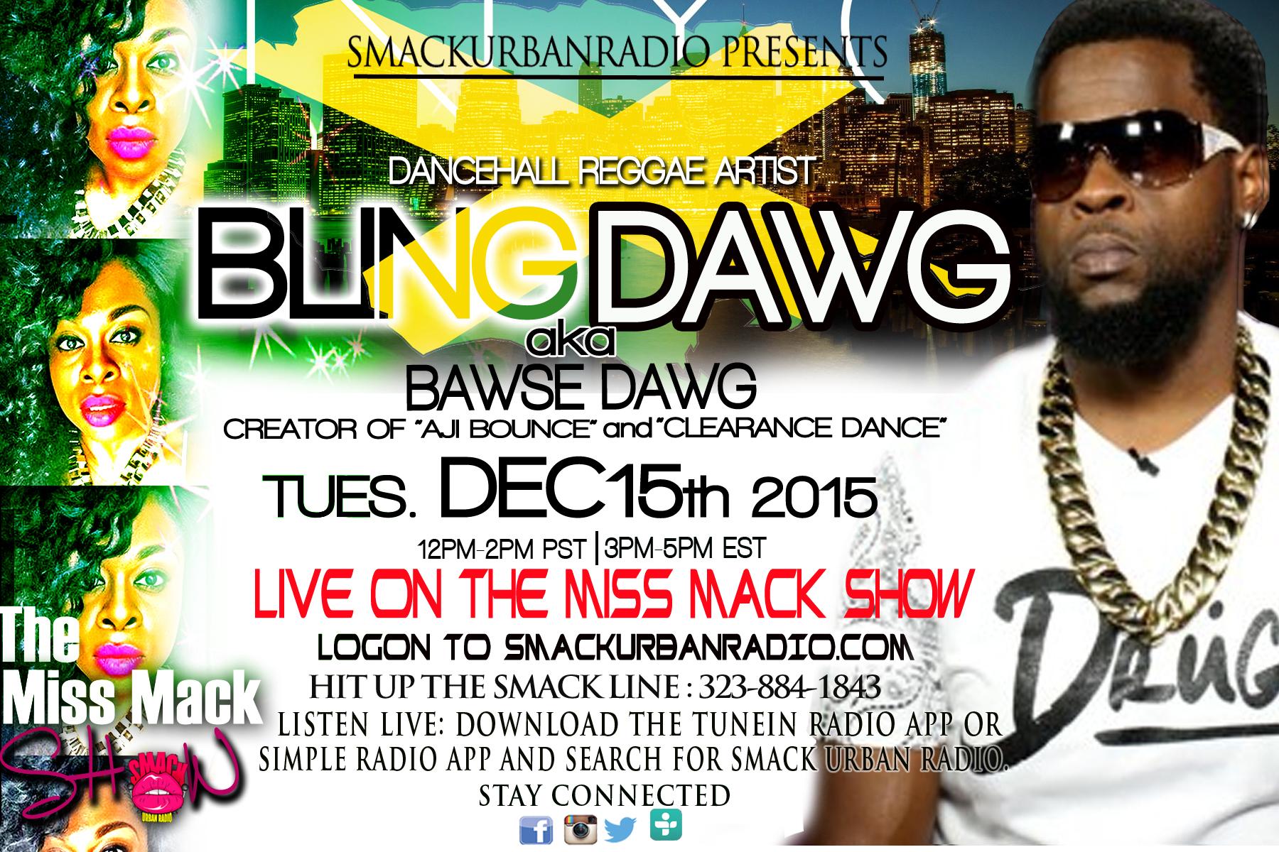 Shannon Mack interviews Bling Dawgz