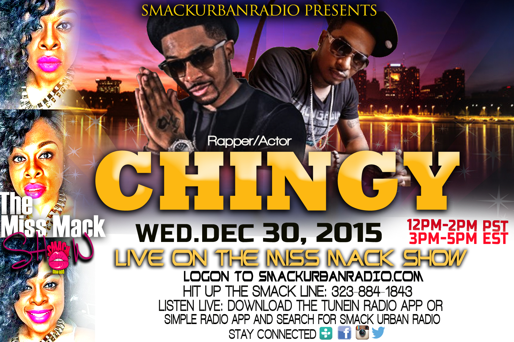 Shannon Mack interviews Chingy