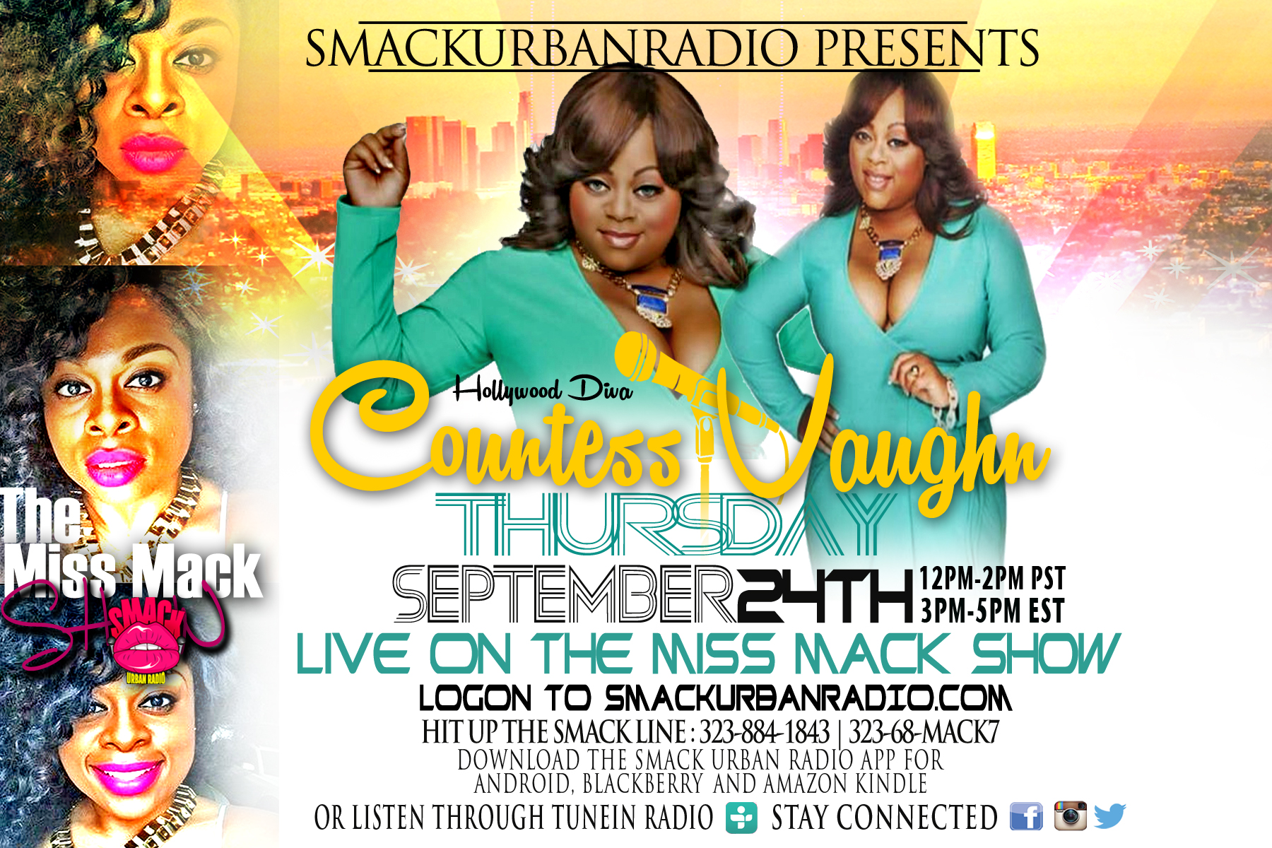 Shannon Mack interviews countess Vaughn