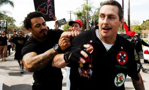 VIDEO: Anaheim KKK Rally Turns Violent; 3 Stabbed 6 Arrested