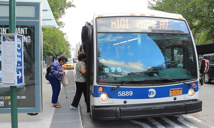 Woman Hi-Jacks MTA Bus When Asked Not To Smoke On The Bus