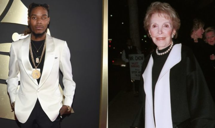 Petition Put Together To Have Fetty Wap Perform At Nancy Reagan's Funeral