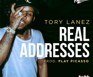 AUDIO: NEW SMACK JOINT ALERT 'Real Addresses by Tory Lanez'