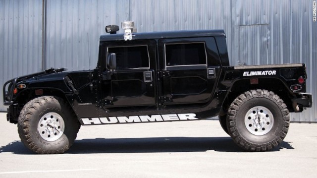Tupac's Hummer Sold To A Lucky Fan For Over $300K