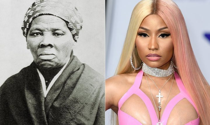 Nicki Minaj Says She's The New Harriet Tubman